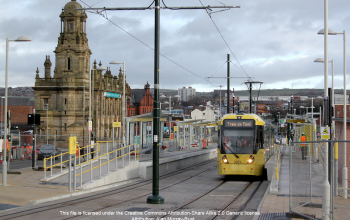Oldham Mumps Metrolink station Geograph 3808802 attribute